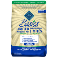 Blue Basics Grain Free Adult Dog Duck 22 lb