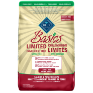 Blue Basics Grain Free Adult Dog Salmon 11 lb