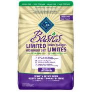 Blue Basics Grain Free Adult Dog Turkey 24 lb