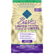Blue Basics Grain Free Adult Dog Turkey 4 lb