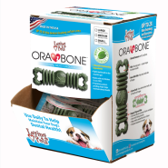 Ora-Bone Dental Treat Counter Display SM 60 ct