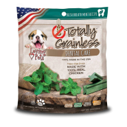 Totally Grainless Dental Care Chews Fresh Breath Mint MED/LG - COMING SOON