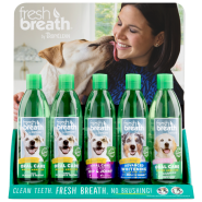 TropiClean Fresh Breath Water Additive Display 15 pc