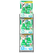 TropiClean Fresh Breath Water Drops 3 Tier Display 18 pc