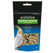 eCotrition Grains and Greens Variety Cockatiel 6.5 oz