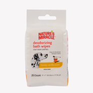 NM Gentle Cleanse Deodorizing Wipes 25 ct