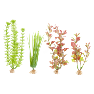 Marineland Multi Pack C1 4 Plants Plastic Small