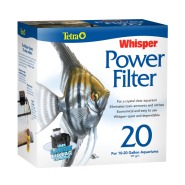 Whisper Power Filter 20 for 10 to 20 gal