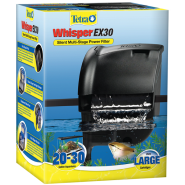 Whisper EX30 Silent Multi Stage Power Filter 20 to 30 gal