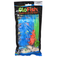 Tetra GloFish Plant SM Orange Md Green Lg Blue