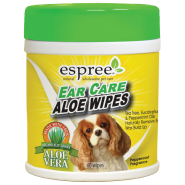 Espree Ear Care Aloe Wipes 60 ct