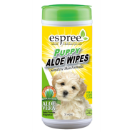 Espree Puppy Aloe Wipes 50 ct