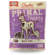 Primal Dog and Cat Beef Nibs 4 oz