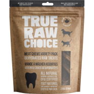 TRC Dog/Cat Dehydrated Raw Treats Meat Chews Variety 270 g