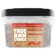 "TRC Dog Dehydrated Raw Treats Beef Pizzle 6"" Bulk 35 ct"