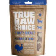 TRC Dog/Cat Dehydrated Raw Treats Turkey & Swt Potato 110 g