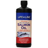 Lifeline Wild Alaskan Salmon Oil 32 oz