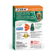 Zodiac Dog Powerspot SmartShield Flea Tick under 14 kg