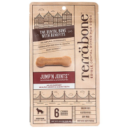 Terrabone GF Jumpin Joints Large Bones 384g 6ct - COMING SOON