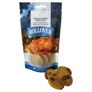 Rollover Gourmet Crunchy Biscuits Trky & Cranberry SM 185 gm