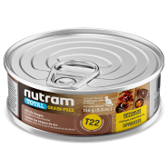 Nutram Total Cat T22 Grain Free Chicken & Turkey 24/156 gm