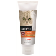 Nutri-Vet Hairball Paw Gel For Cats Salmon 3 oz