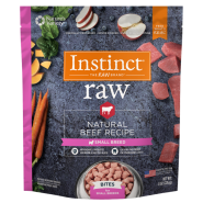 Instinct Raw Dog Natural Beef Small Breed Bites 8 oz
