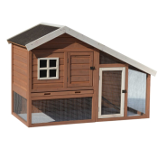 "Precision Chicken Coop Cape Cod 62x32x42"" Brown"