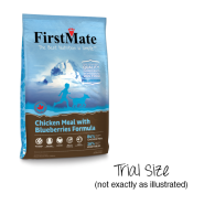 FirstMate Dog GF LID Chicken With Blueberries Trial 25/80 gm