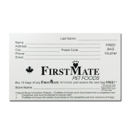 FirstMate Frequent Buyer Cards 10/pk