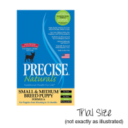 Precise Naturals Dog Small & Medium Breed Puppy 24/4 oz