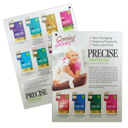 Precise Naturals Coming Soon Product Guide
