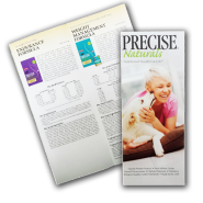 Precise Naturals Product Guide Brochure