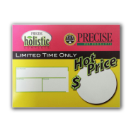 Precise Blank Sale Price Shelf Talker