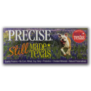 Precise Still Made in Texas Shelf Talker