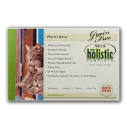 Precise Naturals Cat Grain Free Shelf Talker