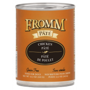 Fromm Grain Free Dog Canned Chicken Pate 12/12 oz
