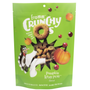 Fromm Dog Crunchy Os GF Pumpkin Kran POW Treats 6 oz