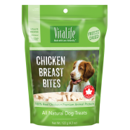 VitaLife Freeze Dried Treats Chicken Breast Bites 122 gm