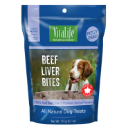 VitaLife Freeze Dried Treats Beef Liver Bites 172 gm