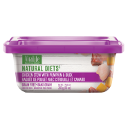 VitaLife Natural Diets Dog GF Chkn w/ Pumpkin & Duck 283 gm