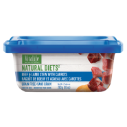 VitaLife Natural Diets Dog GF Beef & Lamb w/ Carrot 283 gm