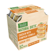 VitaLife Natural Diets Dog GF Chicken w/ Pumpkin 3/100 gm