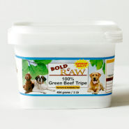 Bold Raw Dog Beef Tripe 1 lb Tub