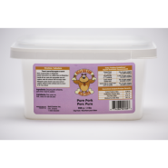 Mega Dog Raw Pure Pork Tub 2 lb