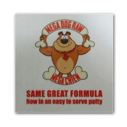 Mega Dog Same Great Formula Window Cling