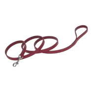 "CircleT Oak Tanned Leather Leash 5/8""x4"