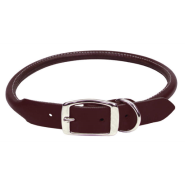 CircleT Latigo Leather Round Collar 5/8x16