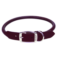 CircleT Latigo Leather Round Collar 3/4x20""