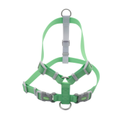 "Pro Waterproof Harness Lime 1"" MED"